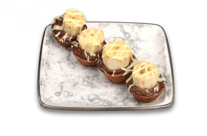 Muz Çikolatalı Tartolet