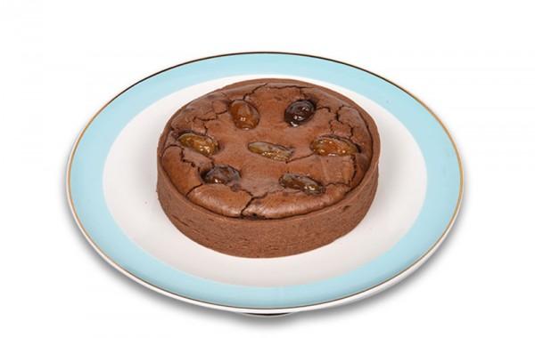 Kestaneli Çikolatalı Tart