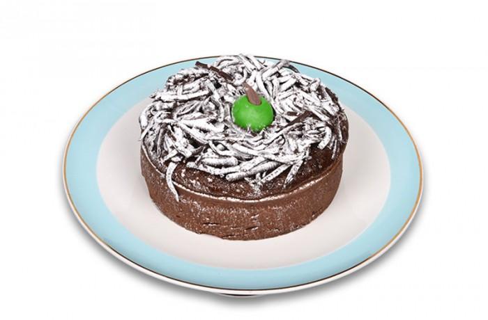 Elmalı Çikolatalı Kek